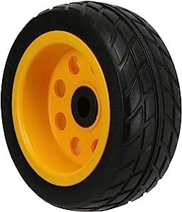 Rock-N-Roller 地面滑翔机后轮 2 件装,20.32 厘米 x 7.62 厘米无扁平 R-Trac 车轮 R6、R8、R14 和 R16 多车,偏移轮毂 (RWHLO8X3)