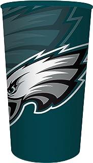 Creative Converting 官方*的 NFL 塑料纪念杯,20 只,22 盎司,费城老鹰