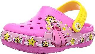 Crocs 卡骆驰 凉鞋 Crocs 范儿 爱情 现代 公主桃色洞洞鞋儿童