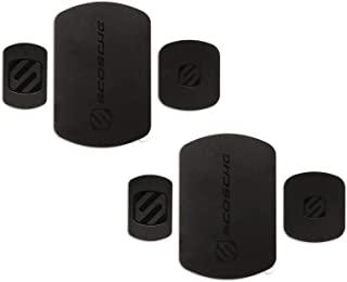 SCOSCHE MRK2PK-UB MagicMount 磁性安装替换板套件适用于移动设备(2 件装) - 黑色