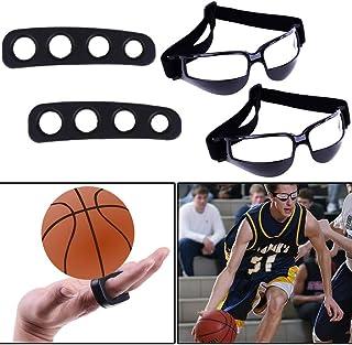 Best Basketball Shooting Aid & Dribble 训练护目镜套装 – 青少年和成人智能篮球击球训练辅助工具 – 儿童的投篮护目镜和射击训练器设备 – 3种尺寸