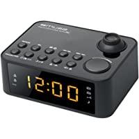 Muse M-178 收音机闹钟,带投影时间