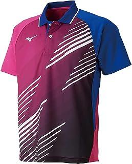 MIZUNO 美津浓 乒乓球服 比赛衫 短袖 标准 Dynamotion Fit 吸汗速干 JTTA 82JA9007 男士