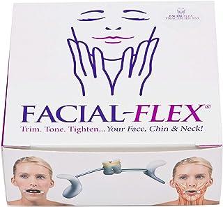Facial Flex Facial Exercise and Neck Toning Kit Facial Flex Device, Facial Flex Bands 8 oz & 6 oz Packs & Carrying Case - ...
