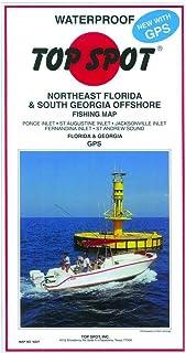适用于东北佛罗里达州/南乔治亚州顶点钓鱼地图