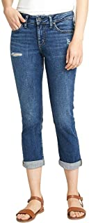 Silver Jeans Co. 女式 Elyse 中腰七分裤