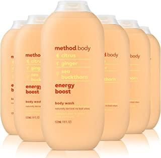 Method 沐浴露,能量提升,18 盎司/532毫升(6 瓶装)