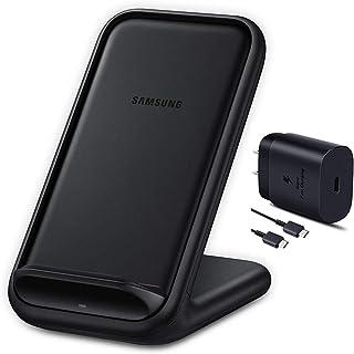 Samsung 官方 15W 2019 快速充电 2.0 无线充电器支架 黑色