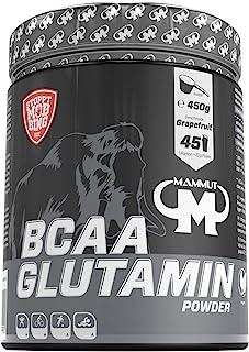 Mammut 支链氨基酸 谷氨酰胺粉剂,葡萄柚味,1盒(1 x 450克)