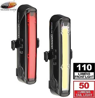 Cygolite Front 110 Hotrod 50 自行车灯组合套装