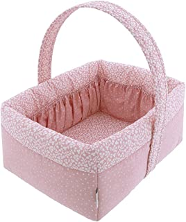Cambrass 45980 Layette Basket 22.5x29x29 厘米 森林粉色