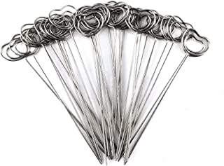 Honbay 30 件 DIY 心形戒指环 工艺 线夹 桌子 卡片 笔记本 照片 备忘录夹金属夹 粘土蛋糕装饰配件