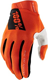 * RIDEFIT 摩托车越野赛手套(MD - FLUO ORANGE) MX & Motor Sport Racing 防护装备 - 中号