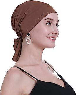 OSVYO 竹制化*頭巾 女士*——**一腳蹬頭飾套渦輪式密封包裝