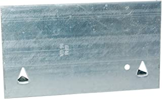 EZ-FLO 85048 一盒 16 个规格的螺柱防护罩,3-1/2 英寸 x 6 英寸(约 8.9 厘米 x 15.2 厘米),50 件装,钢