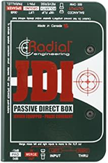 径向工程 R8001010JDI 单通道被动直箱 带 Jensen 变压器