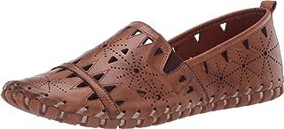 Spring Step 女士 Fusaro 皮革乐福鞋