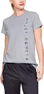 Under Armour 安德玛 女式 Vertical Wm 图形经典圆领短袖运动衫