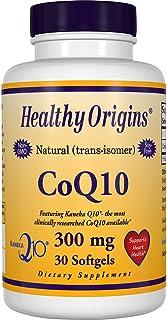 Healthy Origins 辅酶 Q10(钟渊辅酶 Q10) 300 毫克 30 粒软胶囊 - 本品不能代替药物。