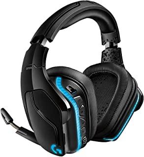 游戏耳机 G933s 罗技 Logicool PS4/PC/Xbox/Switch/智能手机 无线 7.1ch 临场感 降噪 RGB 合成皮革耳垫