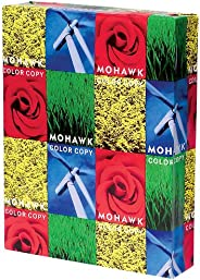 Mohawk Color Copy Gloss Paper 96-Bright Pure White Shade, 32 lb 8.5 x 11 Inches 500 Sheets/Ream - Sold as 1 Re