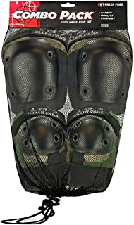 187KillerPads美国 男女儿童 护膝护肘四件套 轮滑滑板单板双板滑雪长板护具四件套装 Combo Pack