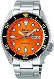 SEIKO 精工 SRPD59 5 运动 24 宝石自动手表 - 橙色