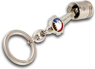 活塞钥匙圈由实心不锈钢制成,CNC 机械 AMERICAN EAGLE