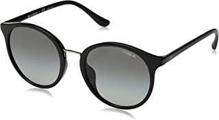 Vogue Eyewear 女式 Vo5166sf 亚洲修身圆形太阳镜