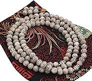 DharmaObjects 西藏佛教冥想 108 颗串珠正品身体 MALA 适用于康乐 Lotus Seed