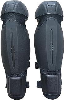 LVOERTUIG 护胫带弹性扣海绵 EVA 材料耐磨,适用于花园工作护胫(尺寸:46.0 x 25.0 厘米)