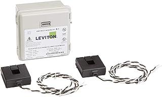 Leviton MO240-1W 户外表面安装机械计数器 120/208/240V 2P3W 100A 带 2 个分离式核心 CTs 迷你仪表套件