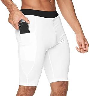 MMIRAG 男士压缩短裤运动紧身健身训练短裤打底裤凉爽干燥打底裤