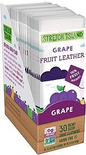Stretch Island 水果条,葡萄,0.5盎司,14克,30粒