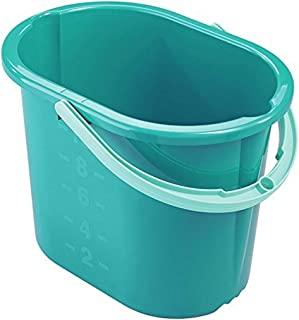 Leifheit Picobello 水桶,蓝色,15.4 x 9.2 x 29.5 厘米