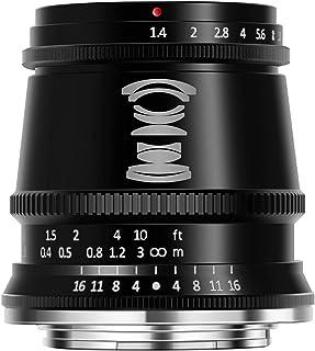 TTArtisan 17mm F1.4 APS-C 广角和大光圈相机镜头,适用于富士 X 安装
