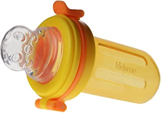 Kidsme 食物挤压器 带额外皂 橙色