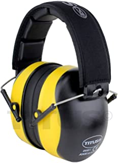TITUS Premium Hearing Protection Ear Muff - Updated Headbands! Quality Hearing Protection Over-Ear EarMuff