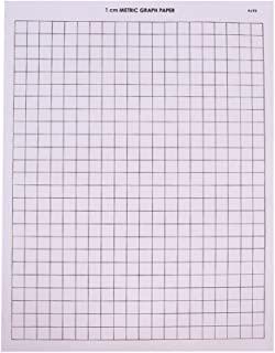hand2mind 绘图纸,1 厘米网格,100 张