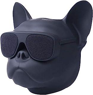 Stylin' Bulldog Head Speaker! 8 英寸便携式蓝牙音箱,法国斗牛犬扬声器,适用于手机、电脑、平板电脑