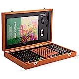 Derwent 2300147 Academy 木质礼品盒 30 支笔