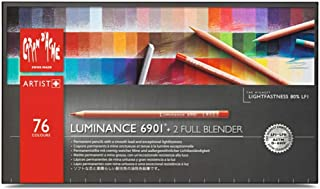 Caran d'Ache 凯兰帝 彩笔纸板箱,76种颜色+2个混合器