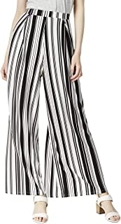 Bar III 女式条纹套穿阔腿裤