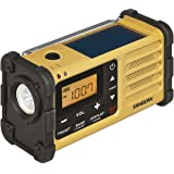 Sangean MMR - 88/UKW/MW 调谐器紧急信号,内置锂电池,黑色/黄色