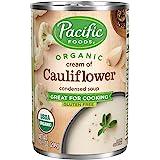 太平洋食品有机奶油花椰菜浓缩汤,10.5 盎司(12 件装)