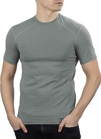 281Z *弹力棉内衣 T 恤 - 战术远足户外 - 惩罚者战斗线