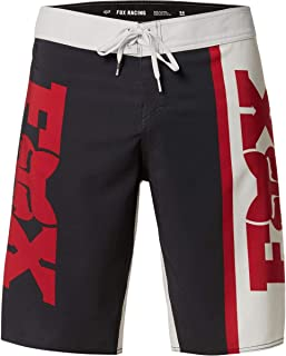 Fox Racing 男式 Victory 弹力摩托车越野赛标志沙滩裤(黑色,30)