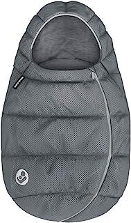 Maxi-Cosi 迈可适 婴儿汽车*座椅冬季脚套 适合新生儿的温暖脚套 Essential Grey