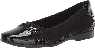 Clarks 其乐 Un Darcey Cap 女士芭蕾平底鞋
