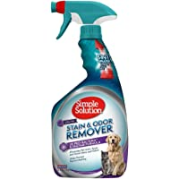 Simple Solution 宠物污渍和*剂   酶清洁剂带 2X 专业*清洁剂 32 oz spray